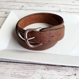 JUSTINS Genuine Leather Belt 40